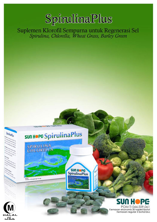 Spirulina Plus Sun Hope