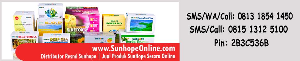 Jual Produk Sunhope Herbal Terpercaya